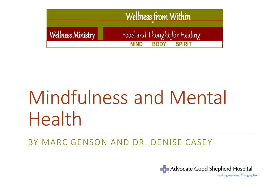 Wellness from Within – Sunday, June 28, 2015