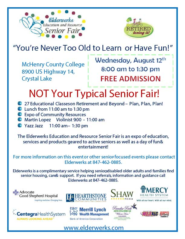 Elderwerks Senior Fair
