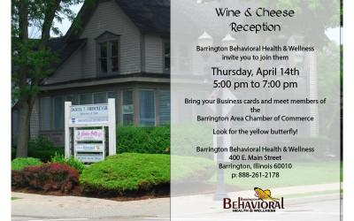 Wine & Cheese Reception