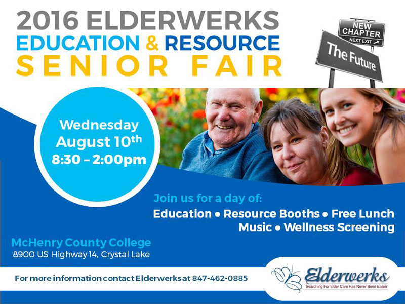 Reminder: Elderwerks Senior Fair