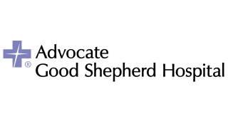 Logo for and link to: Advocate Good Shepherd Hospital in Barrington, Illinois 60010, for more information about our involvement with Advocate Good Shepherd Hospital call 888-261-2178