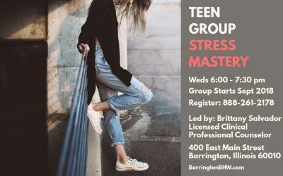 Teen Group: Stress Mastery