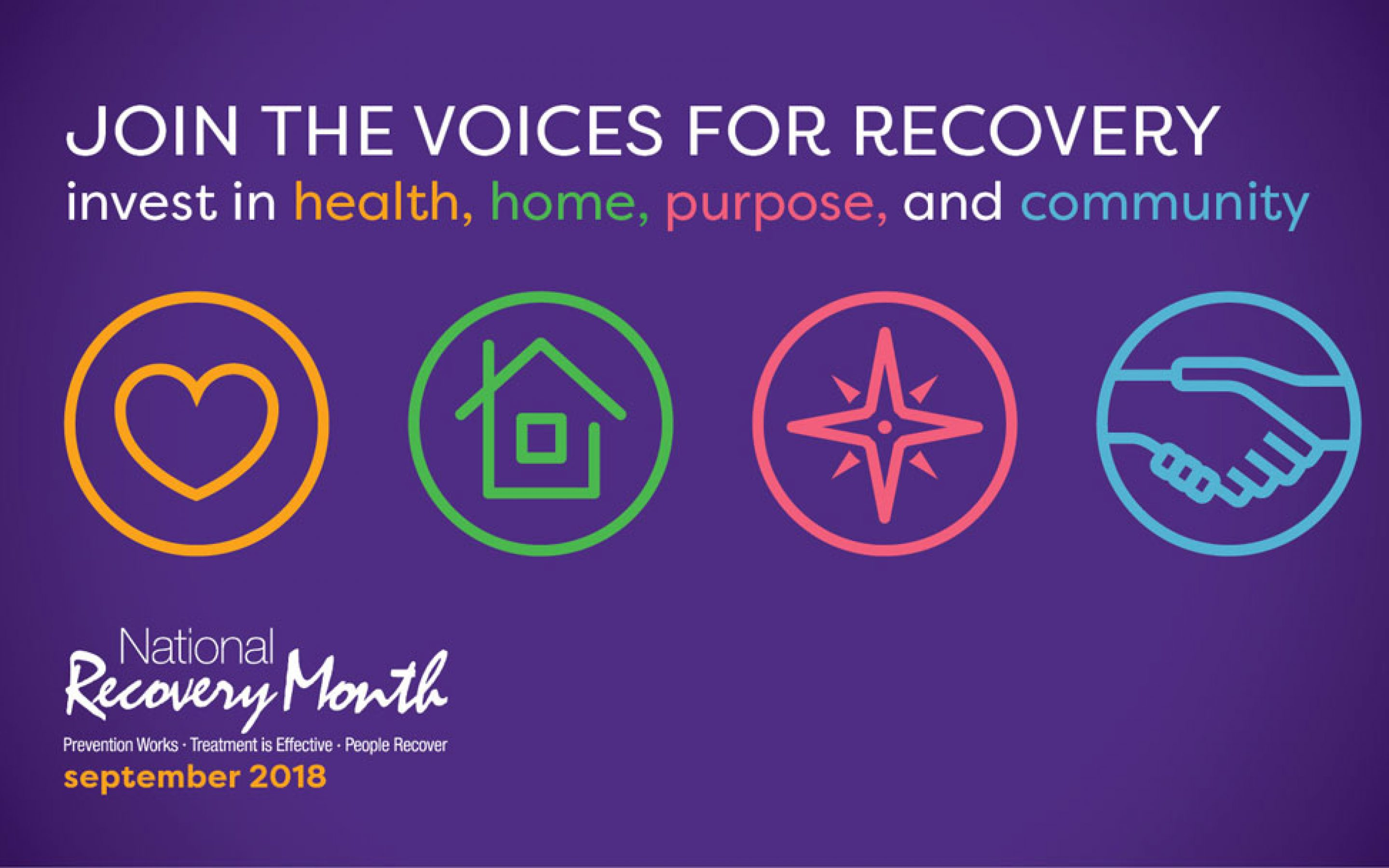 Image of logo for the 29th National Recovery Month. Join Barrington Behavioral Health and Wellness and SAMHSA (Substance Abuse Mental Health Services Administration) in Celebrating the 29th Annual National Recovery Month. For more information contact us at help@barringtonbhw.com or call: 888-261-2178